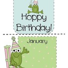 Hoppy Birthday!  Mini Bulletin Board Set