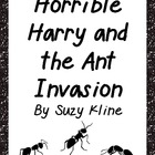 Horrible Harry and the Ant Invasion Basic Comprehension Questions