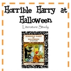 Horrible Harry at Halloween - Literature Study