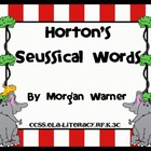Horton's Seussical Words