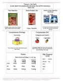 Houghton Mifflin Mini-Focus Wall Theme 8 Weeks 1-3