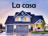 House (La Casa) Vocabulary Power Point in Spanish (40 Slides)
