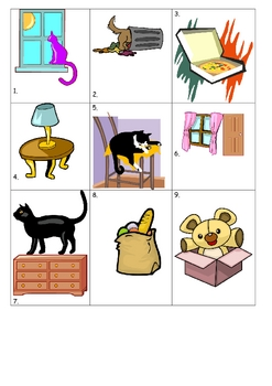 FRENCH House and Home Prepositions