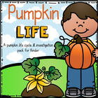 How Does A Pumpkin Grow: Life Cycle and Investigation Kit