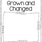 How I've Grown and Changed Story Booklet FREEBIE