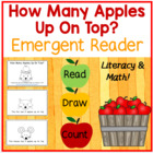 How Many Apples Up On Top?  Emergent Reader-Aligns with 5