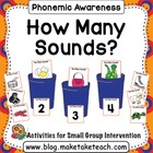 How Many Sounds? - Phoneme Segmentation