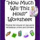 How Much Will This Hold? - Volume Activity