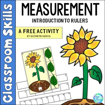How Tall Is It?  A Measurement for Beginners FREE Activity