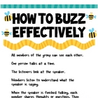 How To Buzz Effectively Poster