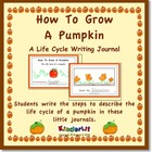 How To Grow A Pumpkin - A Writing Journal