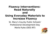How To Increase Reading Fluency