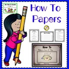 How-To Papers & Helpers