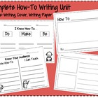 How-To Pre-Writing Worksheets