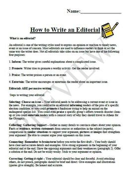 How To Write A 5 Page Essay