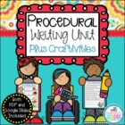 How To Writing Unit Plus Craftivities {Procedural Writing}