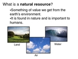 How We Use Earth's Resources