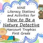 How to Be a Nature Detective Literacy Stations for Harcour