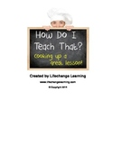 How to Create a Lesson Plan that Works Manual