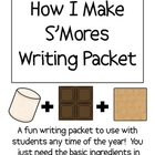 How to Make S'mores (smores) Writing Packet