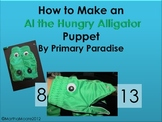 Greater Than, Less Than: How to Make an Alligator Puppet