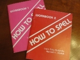 How to Spell Workbooks 1 and 2