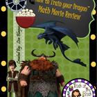 How to Train your Dragon Middle School Math Movie Review