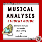 How to Write a Musical Analysis