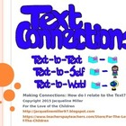 How to connect to the text