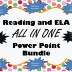 Huge Reading and ELA PowerPoint Bundle on CD