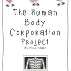 Human Body Corporation Project by Miss Sharp