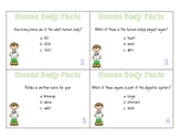 Human Body Facts Task Cards