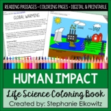 Human Impact Coloring Book (Pollution, Climate Change, Con