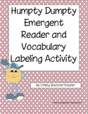 Humpty Dumpty Emergent Reader with Vocabulary and Retellin