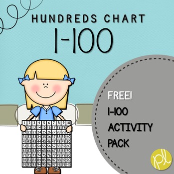 Hundreds Chart Activity Pack