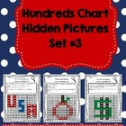 Hundreds Chart Hidden Pictures Set #3