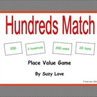 Hundreds Match Math Game