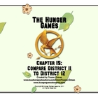 Hunger Games Chapter 15 Comparison Activity