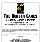 Hunger Games Exams, Quizzes, Tests, Review Bundle