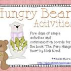 Hungry Bear Activities - Aligned to Common Core