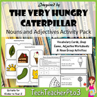 Hungry Caterpillar Nouns & Adjectives Sort - Literacy Pack