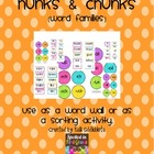 Hunks and Chunks: Word Wall or Sorting Activity