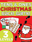Hurry Up Reindeer! Differentiated Ten Frame Composition Game