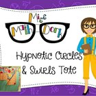 Hypnotic Circles & Swirls Teacher Tote