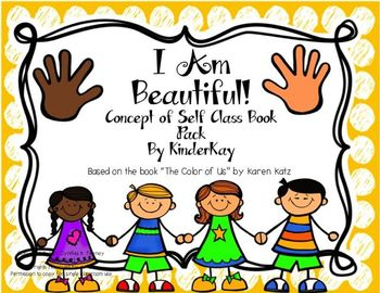I Am Beautiful! Concept of Self Class Book Pack
