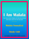 I Am Malala Study Unit- Updated 10/22/2014