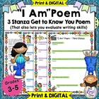 "Poem: ""I Am Poem""  A Great Back to School Get to Know You"