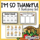 I Am Thankful {A Common Core Aligned Thanksgiving Unit}