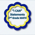 """I CAN"" Statements - Math 2nd Grade"