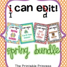 I Can Edit! Sentence Editing for Kindergarten and 1st Spri
